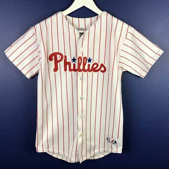 big sale 22efd 2c072 Majestic Youth Ryan Howard Phillies Jersey